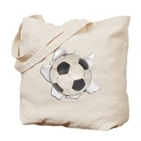 Play Soccer! Tote Bag