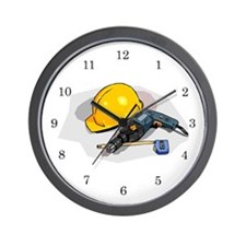 Carpenter Wall Clock