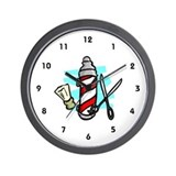 Barber Wall Clock