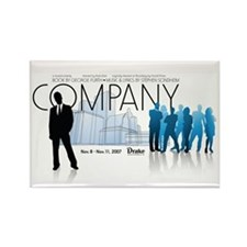 Company Rectangle Magnet