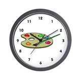 Artist Wall Clock