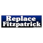 Replace Mike Fitzpatrick Bumper Sticker