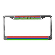 Gambia Gambian Flag License Plate Frame