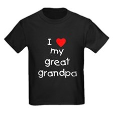 I love my great grandpa T