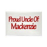 Proud Uncle of Mackenzie Rectangle Magnet (10 pack