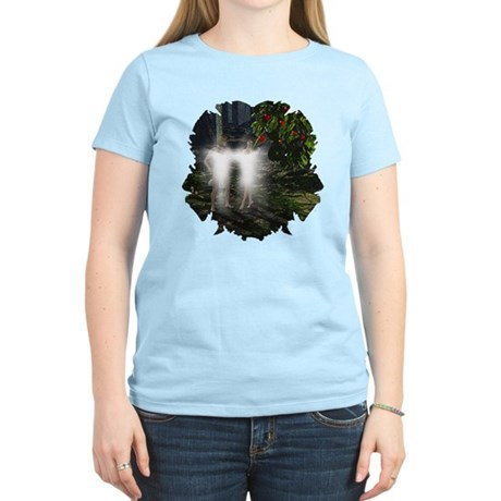Adam and Eve Before Women's Light T-Shirt