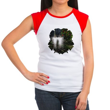Adam and Eve Before Women's Cap Sleeve T-Shirt