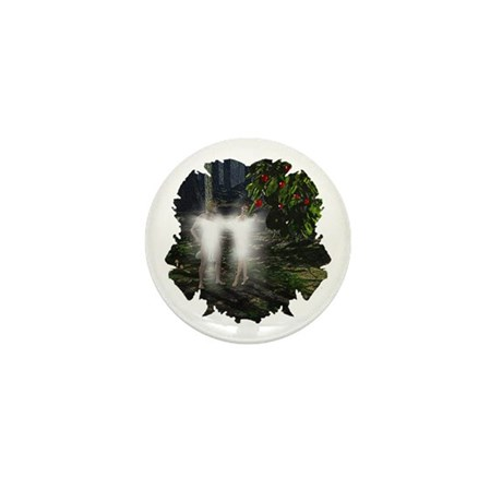 Adam and Eve Before Mini Button (100 pack)