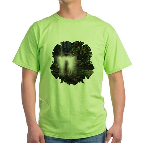 Adam and Eve Before Green T-Shirt