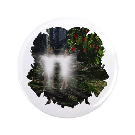"Adam and Eve Before 3.5"" Button (100 pack)"