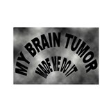 Unique Brain cancer Rectangle Magnet (100 pack)
