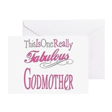 Fabulous Godmother Greeting Card