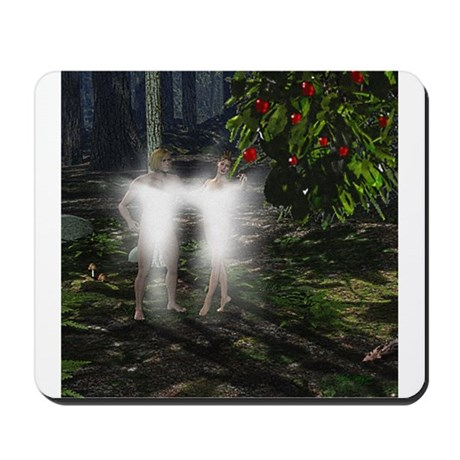 Adam and Eve Before Mousepad