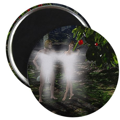 "Adam and Eve Before 2.25"" Magnet (100 pack)"