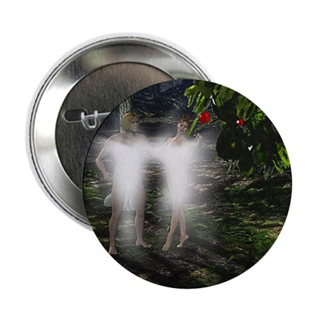 "Adam and Eve Before 2.25"" Button"