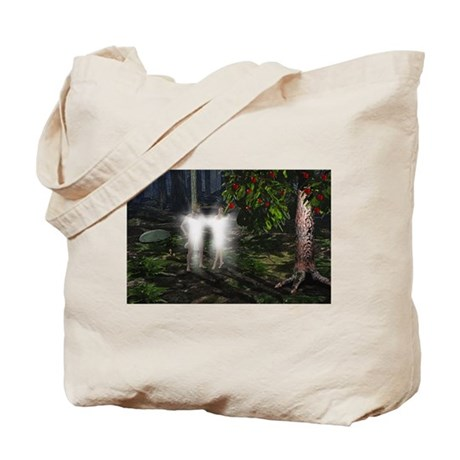 Adam and Eve Before Tote Bag