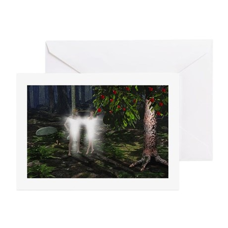Adam and Eve Before Greeting Cards (Pk of 20)