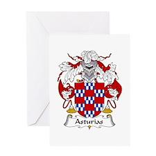 Asturias Greeting Card