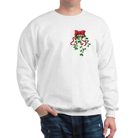 Christmas Mistletoe Sweatshirt