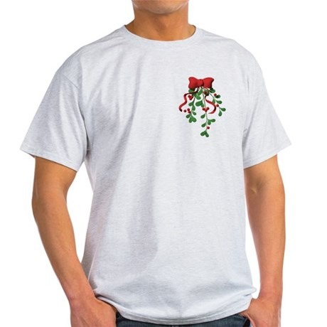 Christmas Mistletoe Light T-Shirt
