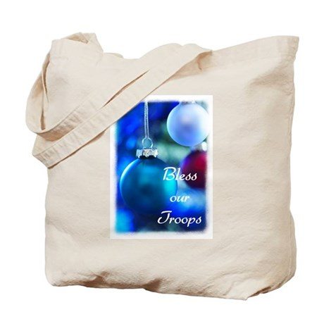 Bless our Troops Tote Bag