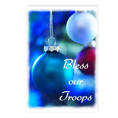 Bless our Troops Postcards (Package of 8)