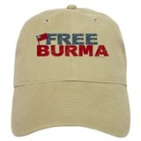 Free Burma 1.1 Baseball Cap