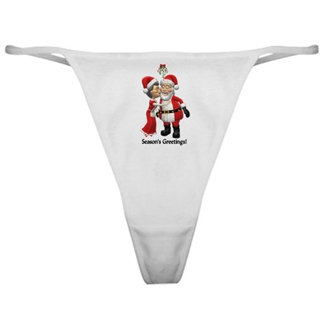 Season's Greetings Classic Thong