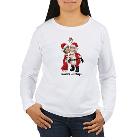 Season's Greetings Women's Long Sleeve T-Shirt