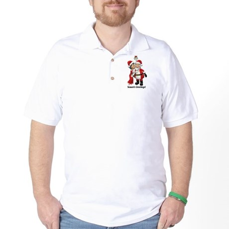 Season's Greetings Golf Shirt