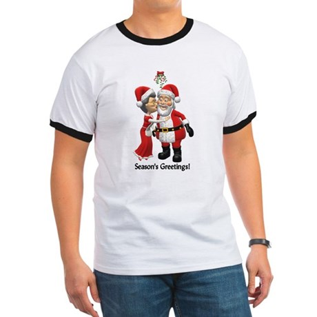 Season's Greetings Ringer T