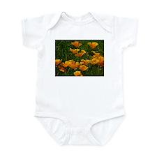 California Poppies Infant Bodysuit