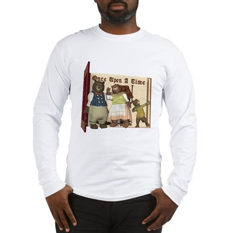 The Three Bears Long Sleeve T-Shirt
