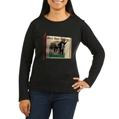 The Three Blind Mice Women's Long Sleeve Dark T-Sh