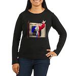 Alpha Man Women's Long Sleeve Dark T-Shirt
