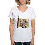 Billy Bull Women's V-Neck T-Shirt
