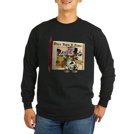 Billy Bull Long Sleeve Dark T-Shirt