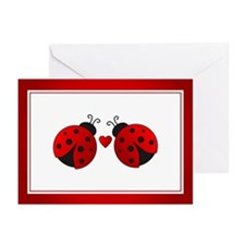 Ladybug Love Greeting Cards (Pk of 10)