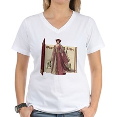 Cinderella Women's V-Neck T-Shirt