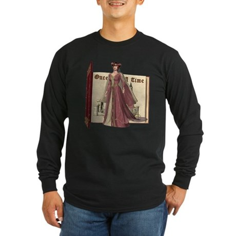 Cinderella Long Sleeve Dark T-Shirt
