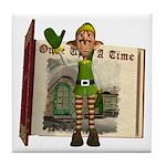 Santa's Elf Tile Coaster