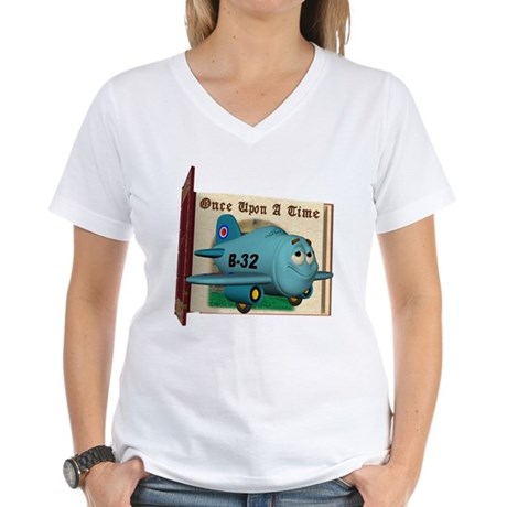 Emotiplane Women's V-Neck T-Shirt