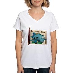 Emotiplane Women's V-Neck T-Shirt