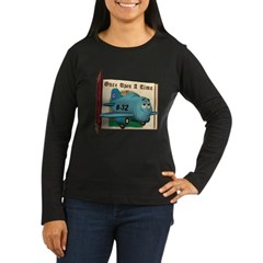 Emotiplane Women's Long Sleeve Dark T-Shirt