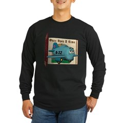 Emotiplane Long Sleeve Dark T-Shirt