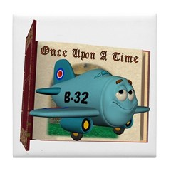 Emotiplane Tile Coaster