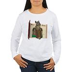 Furry Friends Mouse Women's Long Sleeve T-Shirt
