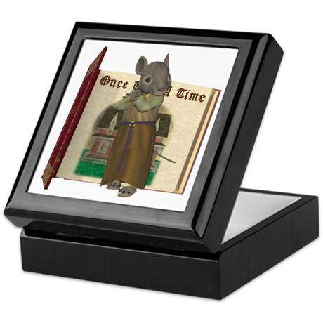 Furry Friends Mouse Keepsake Box