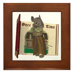 Furry Friends Mouse Framed Tile