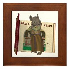 Furry Friends Mouse Framed Tile